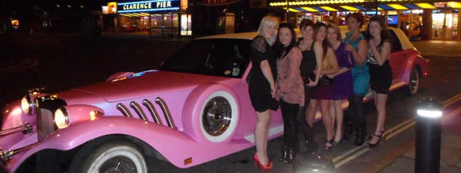 think pink excalibur birthday night out