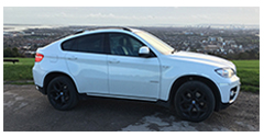 bmwx6, hire, today, portsmouth, fareham,